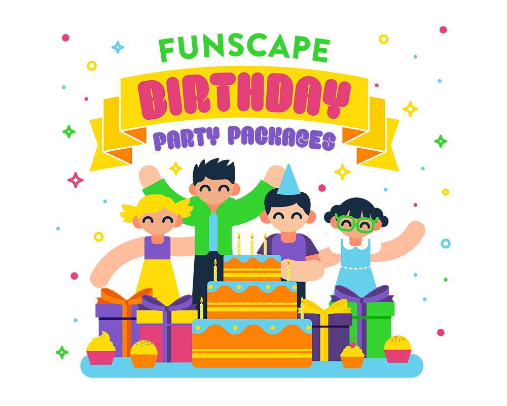 FUNSCAPE World BIRTHDAY PARTY PACKAGES
